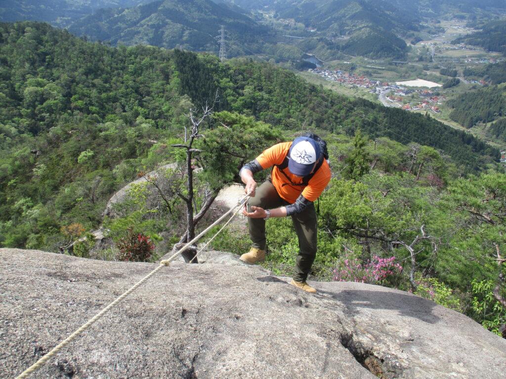 五頭岩の上からの景色