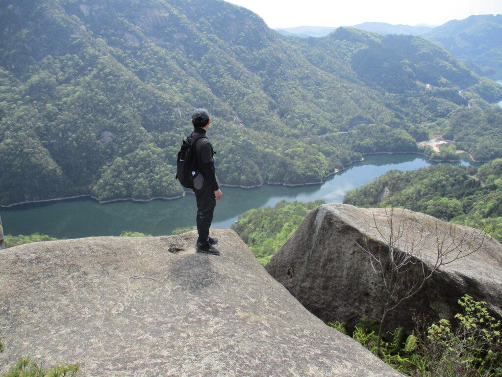 弥栄湖が超きれい