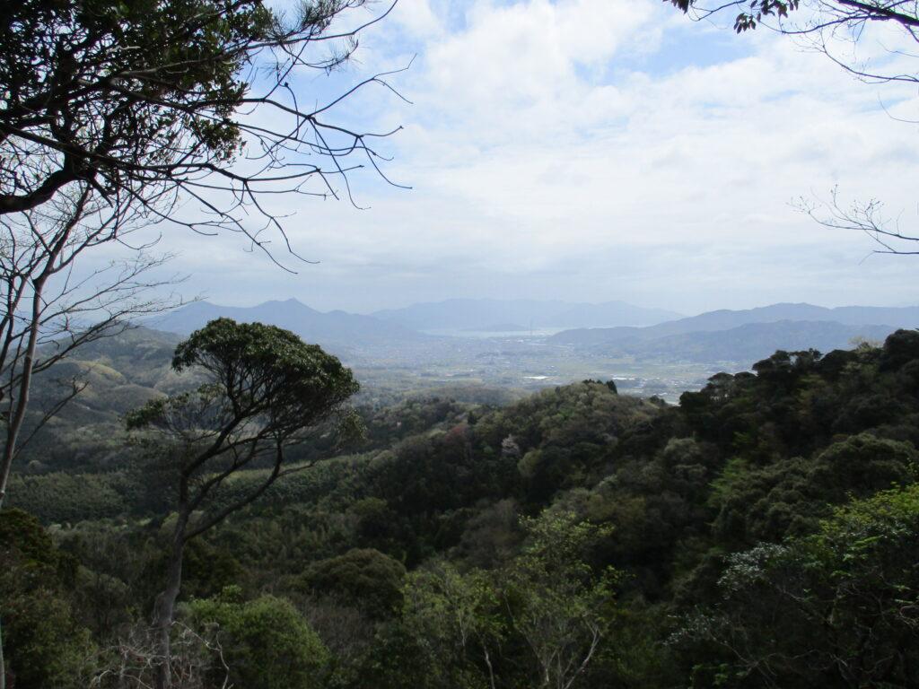柳井方面の景色