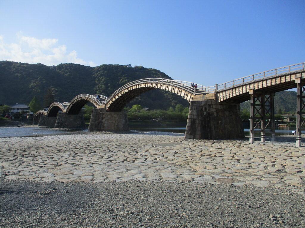 最後に錦帯橋