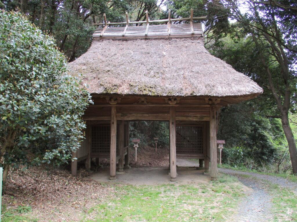 神護寺仁王門(随身門)