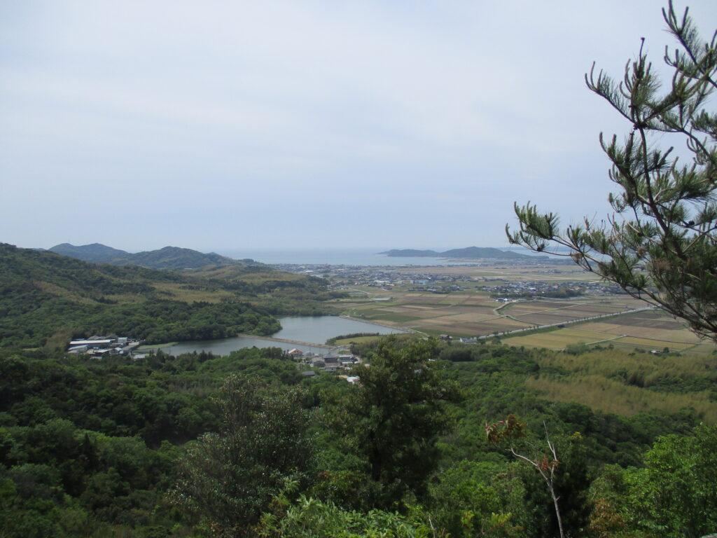 仏岩からの景色