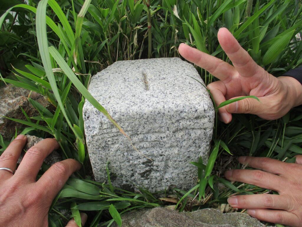 銭壺山の三角点