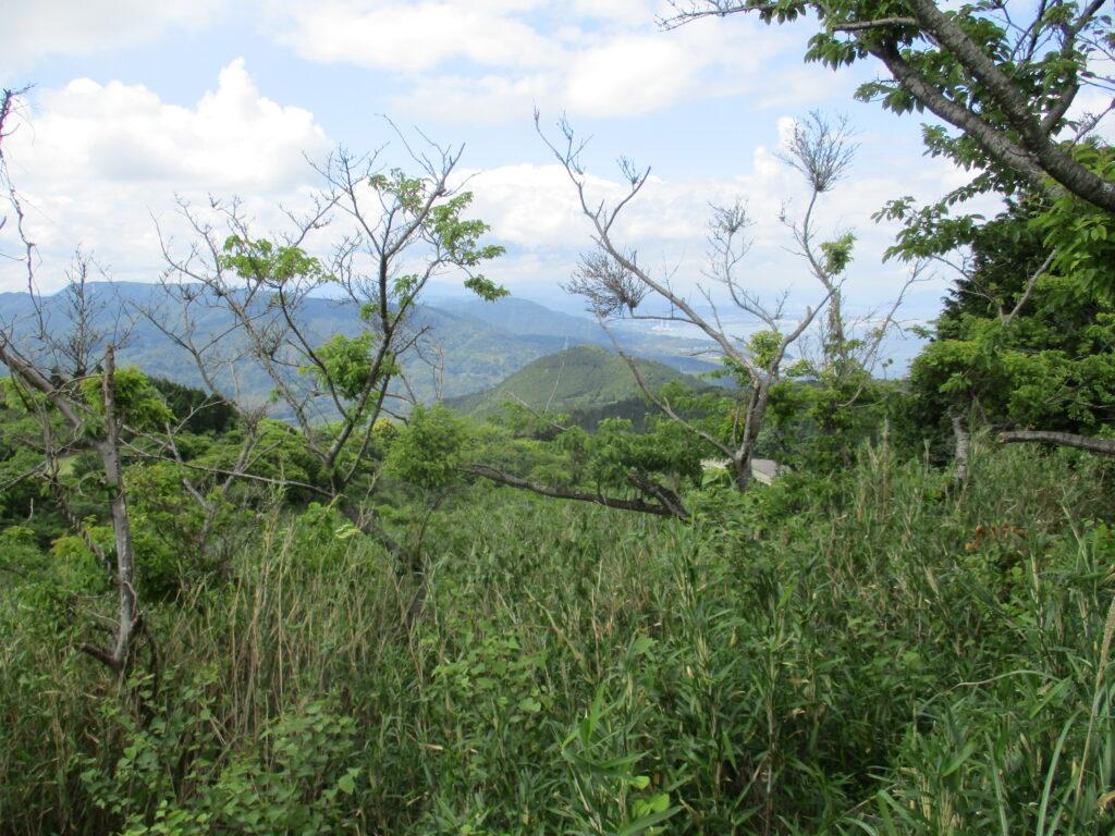 銭壺山から見る大将軍山