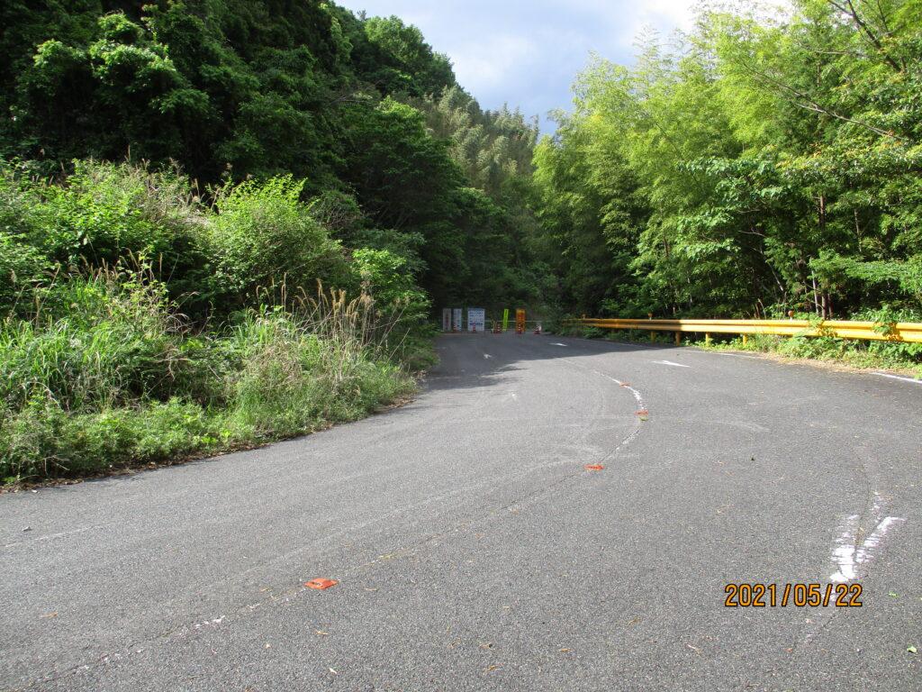 山口県道150号銭壺山公園線は本当に全面通行止め