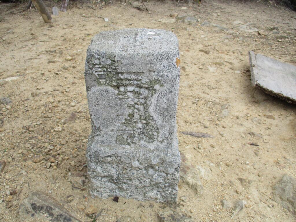 亀尾山の三角点