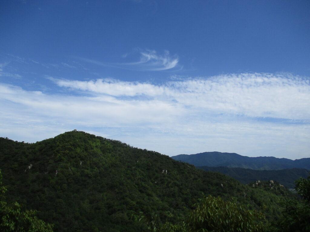 大梅山山頂からの景色
