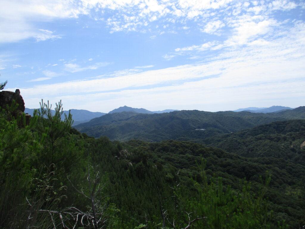 岩山からの景色