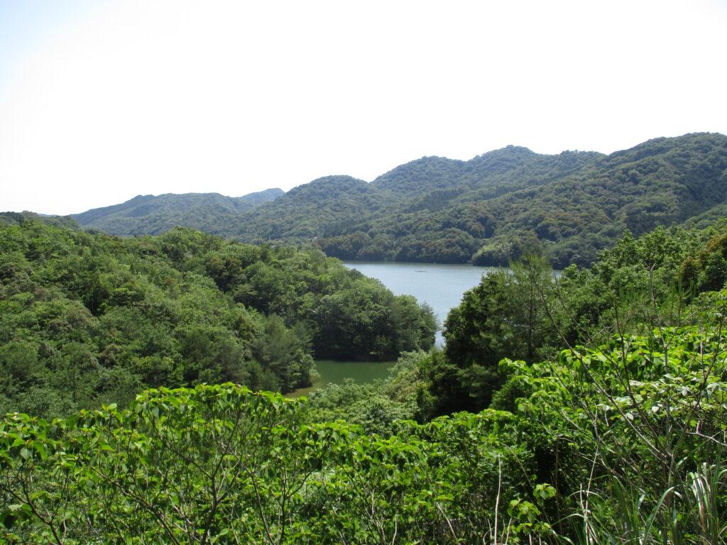 中山川ダムの景色