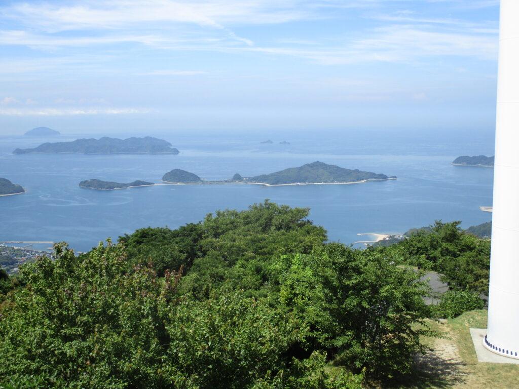 大星山山頂から見る馬島