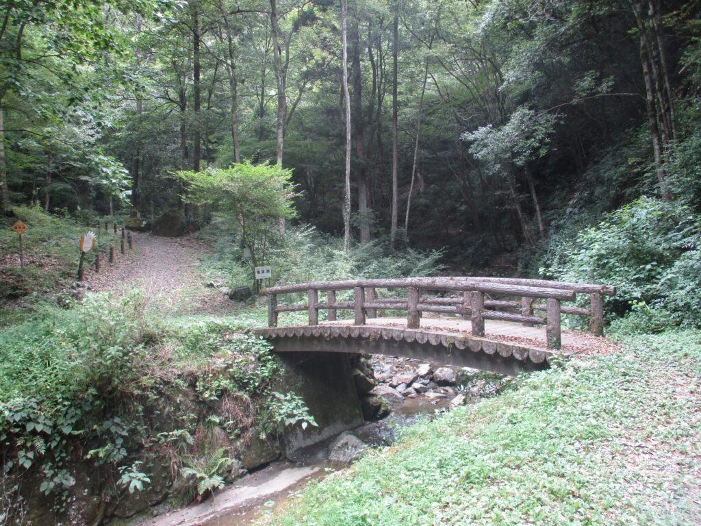 竜宮淵の橋
