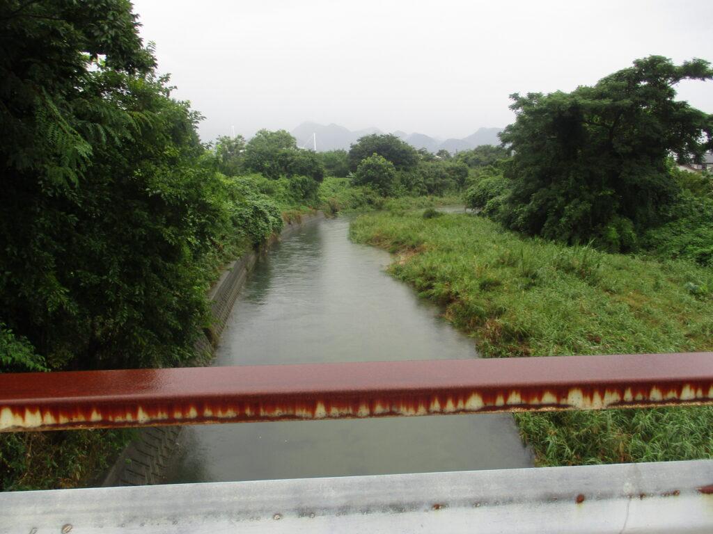 共有橋から上流