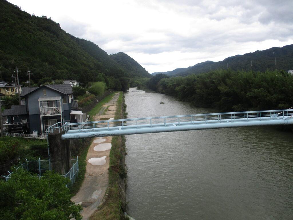 国道262 松竹梅道路 長野大橋から上流