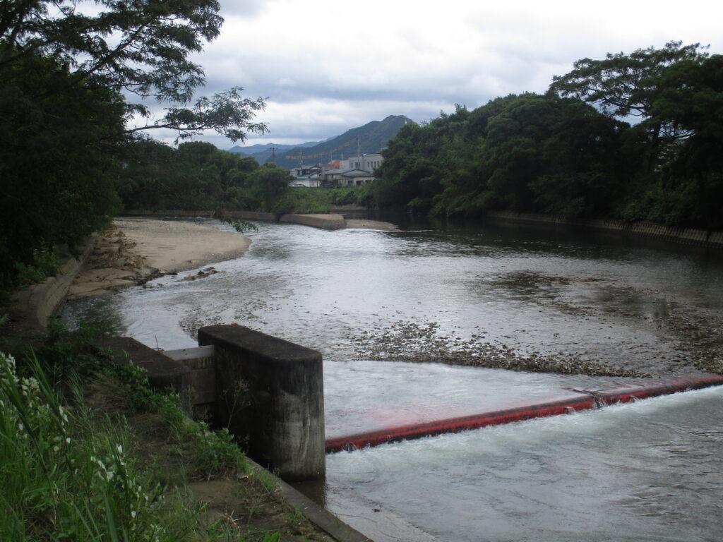 二斗代橋の上流