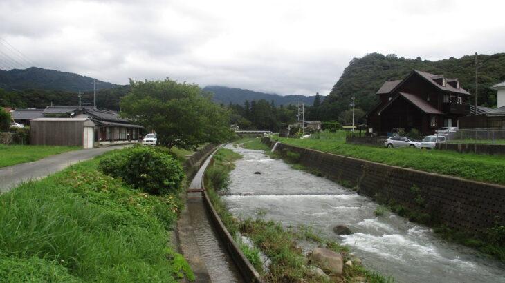 たまに氾濫危険水位に達する山口市の吉敷川を遡ってみた