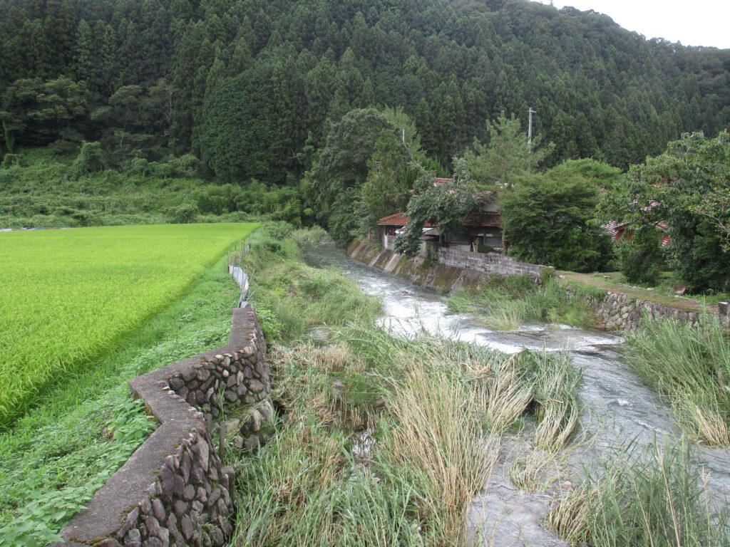 仁保川の支流、岩倉川