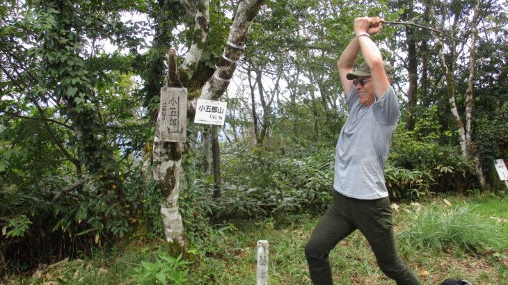 【山口県百名山】小五郎山金山谷鉱山ルートは思いのほか楽でした