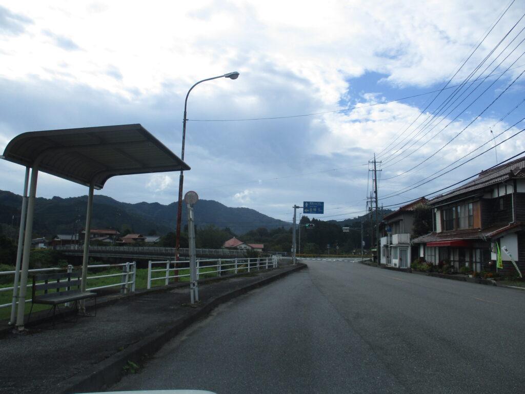 錦川を渡り金峰へ