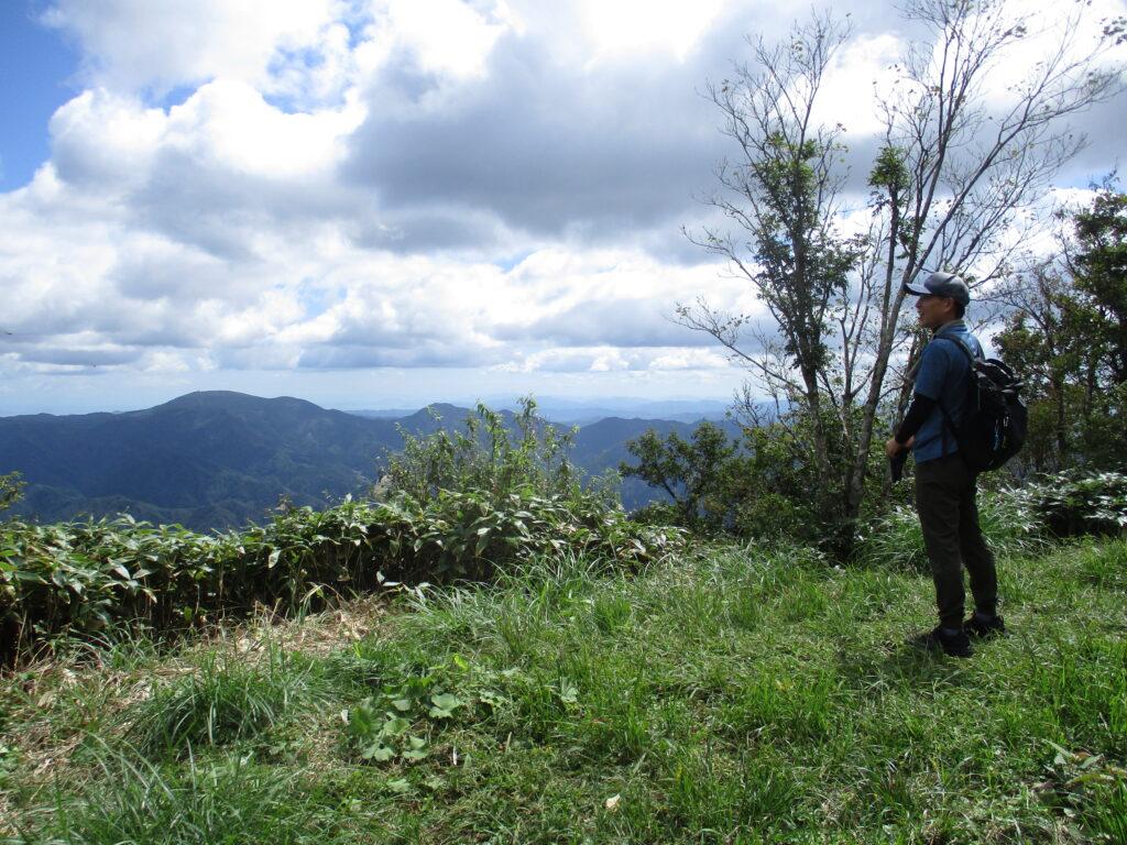 小五郎山山頂からの景色