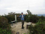 周南アルプスの縦走で膝がガクガクに-虎ヶ岳から茶臼山