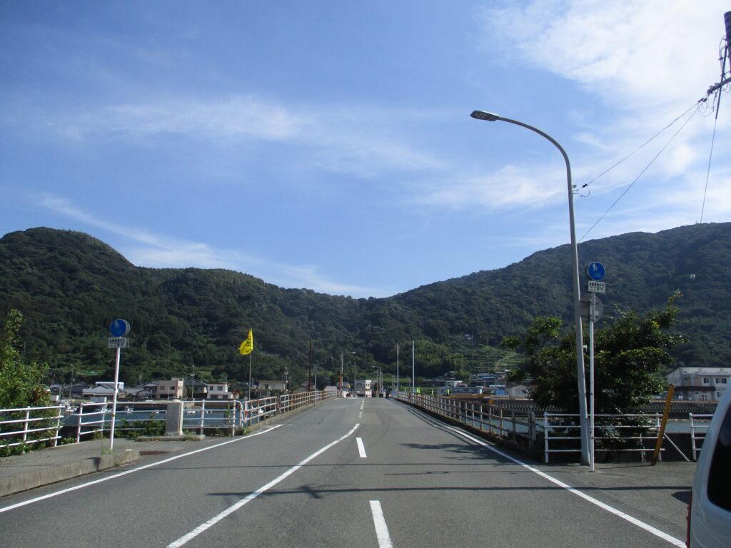 向島への可動橋、錦橋